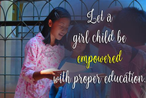 Let-a-girl-child-a-empowered